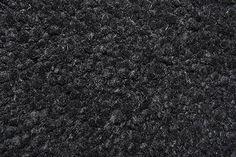 Windrush. Black. Felted custom size chunky shag pile rug. #prestigecarpets #wool #carpet #shagpile #custommade #chunky