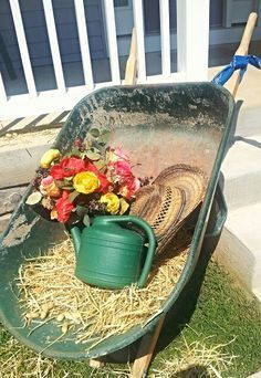 Western party ideas without the watering can Country Birthday Party, Cowboy Birthday, Farm Birthday, Farm Party, Bbq Party, Country Western Parties, Western Theme, Western Decor, Rodeo Party
