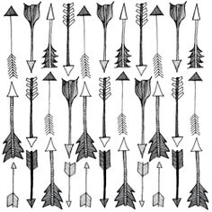 arrow pattern for plates