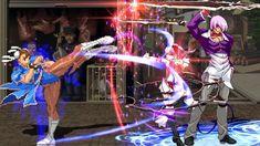 B Chun-Li (美脚春麗) VS Iori Yagami (八神庵) | MUGEN無限格鬥 Street Fighter Characters, Chun Li, King Of Fighters