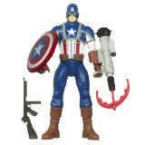 Marvel Captain America Electronic Feature Play Action Figure
