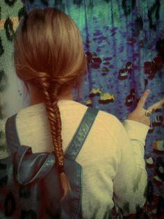 cute fishtail braid! #hair