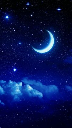 Another thing my grandparents taught me about, the moon  and stars ⭐️ 6/18. Sun Moon Stars, Moon Moon, Moon Phases, Moon Art, Night Skies, Moon Pictures, Moon Magic, Beautiful Moon, Galaxies