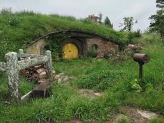 Hobbit hole landscape terrain idea