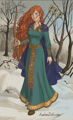 Viking Woman- Merida