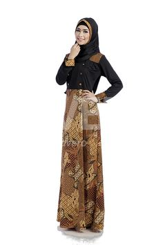 24 Best Gamis Images In 2019 Hijab Fashion Batik Dress Model