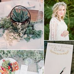 Sweet as Honey! A Light and Airy Outdoor Baby Shower; some of the decor could be easy at my parents and would look lovely!