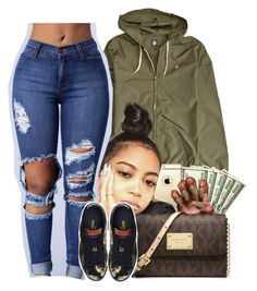 """""""Watch me rock it, You can't stop it"""" by heavensincere ❤ liked on Polyvore featuring Element, MICHAEL Michael Kors and Puma"""