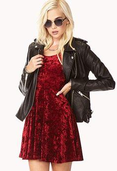 Moto Babe Faux Leather Jacket | Forever 21 - 2077225924