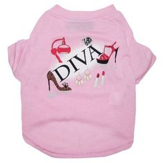 Pets First Diva Pet Tee Shirt Medium * To view further for this item, visit the image link. (This is an affiliate link)