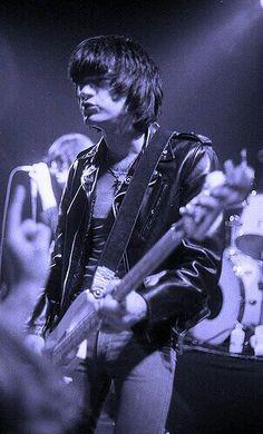 Dee Dee Ramone of punk rock legends The Ramones.