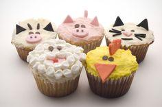 pics of cupcakes   animales-mantequilla