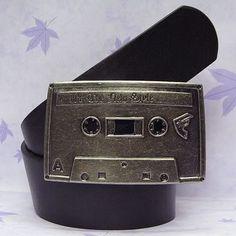 FAMOUS STARS STRAPS Cassette Tape Buckle