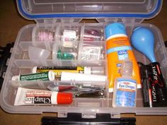 DIY First Aid Kit.  Do you have one?