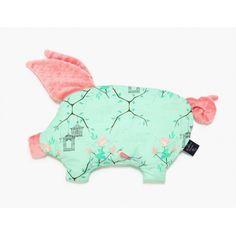 La Millou - sleepy pig -ptasie radio, Maggie Rose Mint, Coral