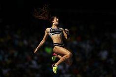 Eliza McCartney of New Zealand - pole vault at Rio 2016