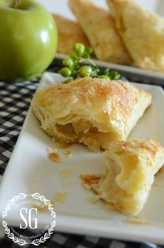 Puff Pastry Apple Turnovers-delicious insidest-stonegableblog.com
