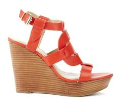 Kandace Red Wedge.