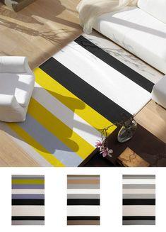 Keltainen Avenue-matto