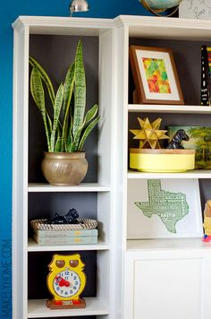 How to Refresh a Room in an Hour - via MakelyHome.com