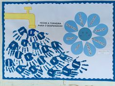 Water Theme Preschool, World Water Day, Water Cycle, School Decorations, Environmental Art, Men Store, Graphic Organizers, Water Crafts, Pre School