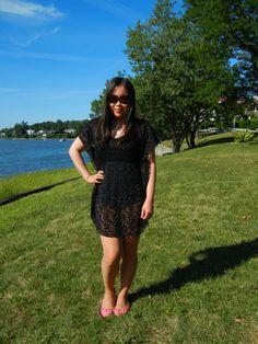 wearing an Elif for Jordan Taylor dress #fashion #style #summer