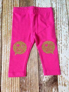Love You Leggings  toddler leggings  kids by LittleHooligansCo