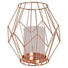Copper Candle Holder S