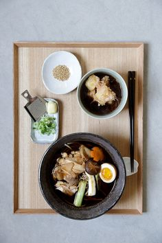 A Japanese Meal in Jaffa- Hot Soba Soup and Agadashi Tofu Soba Soup, Japanese Food, Easy Dinner Recipes, Asian, A Food, Cooking Recipes, Yummy Food, Meals, Kitchens