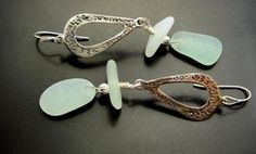 sea glass jewelry by Tracy Carothers