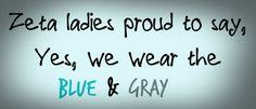 Would be a cute saying for a sisterhood shirt. #ZTA Zeta Tau Alpha