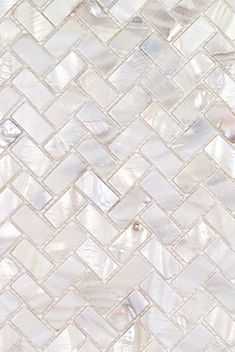 Decorative Pearlescent Mother of Pearl Mosaic Tile in White for Shower Bathroom, kitchen backsplash, and interior wall. Mosaic Shower Tile, Shower Backsplash, White Tile Backsplash, White Mosaic Tiles, Bathroom Floor Tiles, Shower Bathroom, White Bathroom Wall Tiles, Kitchen Backsplash Mosaic, Modern Mosaic Tile