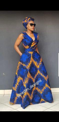 AFRICAN MAXI DRESSES @nedim_designs ☎️+27829652653