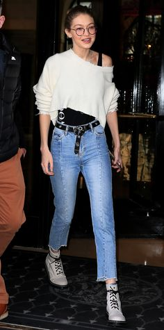 Gigi Hadid's Best Street Style Moments - February 28, 2017 from InStyle.com
