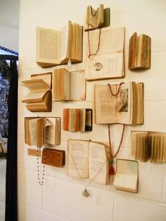 Wall Decoration Ideas - Books
