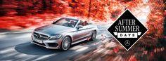 Kom de nieuwe Mercedes-Benz GLC Coupé en C-Klasse Cabriolet bewonderen op de After Summer Days bij de dealer.