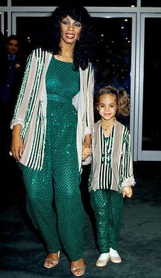 Donna Summers mommy matching inspo 1970s