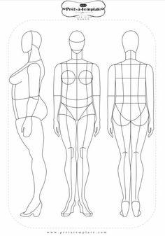 Plus size fashion template