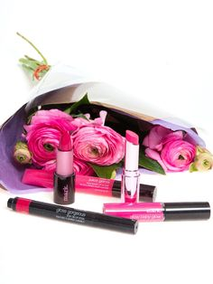 Rock a pretty pink lip all season long with mark. lip products! #AvonRep