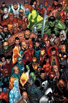 Marvel Comics - Characters