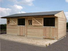 12' x 12' Ideal Range Stables from Jon William Stables, UK