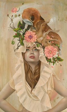 KARI LISE ALEXANDER awkward composition but love the colours and style