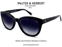 Walter and Herbert Roddick Black Sunglasses, Wayfarer, England, Style, Swag, English, British, United Kingdom, Outfits