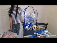 Arreglo Con Burbuja, vino y chocolate FACIL  Bouquet Con Burbuja, vino y chocolate FACIL - YouTube Diy Birthday Gifts For Friends, Bff Gifts, Birthday Gifts For Boyfriend, Mini Balloons, Baby Shower Balloons, Ballons, Balloon Flowers, Balloon Bouquet, Vino Y Chocolate