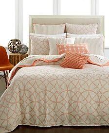 hotel collection textured lattice linen bedding collection only at macyu0027s
