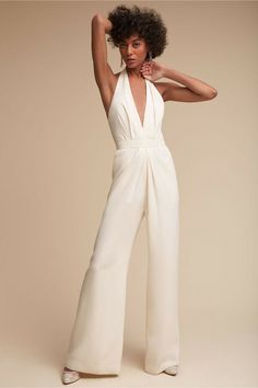 a8929049d45 NEW ANTHROPOLOGIE BHLDN  280 IVORY MARA JUMPSUIT BY JILL STUART SZ 14   fashion  clothing