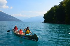 This week's Round T(r)ip: Explore the southern shore of Lake Thun by canoe. #‎SwissGrandTour‬