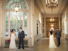 henry ford museum wedding - nicole haley photography. What a beautiful gown with sparkle overlay!