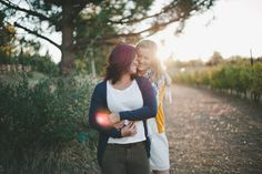 gorgeous lesbian engagement session by www.capturedbyaimee.com