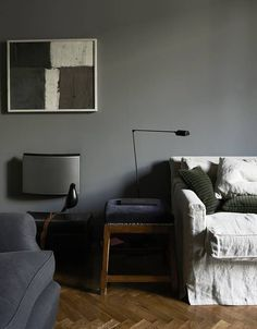 perfect colours for a moody living room